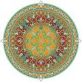 Arabic floral pattern motif Stock Images
