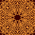 Arabic islamic seamless ornament background design Stock Photography