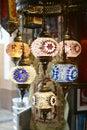 Arabic lamps Royalty Free Stock Photo
