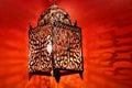 Arabic lantern Royalty Free Stock Photo