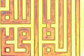Arabic letters, oriental ornaments Royalty Free Stock Photos