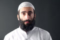 Árabe hombre bigote