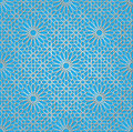 Arabic ornament background with a seamless pattern in arabian style Royalty Free Stock Images