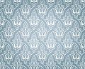 Arabic ornament background with a seamless pattern in arabian style Stock Photo