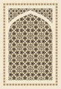 Arabic ornament vintage seamless for background design Stock Image