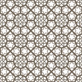 Arabic ornament vintage seamless for background design Stock Images
