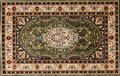 Arabic rug with floral pattern Royalty Free Stock Photo