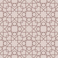 Arabic seamless patterns. Beige ornaments for textile and fabric
