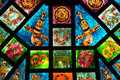 Arabic Stained Glass Stock Photography