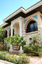 The Arabic style modern villa at luxury hotel Royalty Free Stock Images