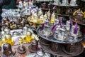 Arabic tea coffee set Royalty Free Stock Photo