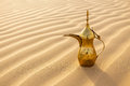 Arabic tea pot Royalty Free Stock Photo