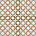 Arabic tile seamless pattern decoration mosaic art