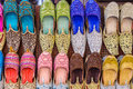 Arabic Traditional shoes Royalty Free Stock Photo