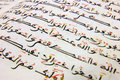 Arabic writing Royalty Free Stock Photo