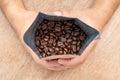 Arabica Roasted Coffee Royalty Free Stock Photo