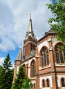 Arad red church Royalty Free Stock Photo