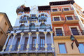 Aragon Teruel El Torico modernist building in Spain Royalty Free Stock Images