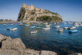 Aragonese castle on Ischia Island, Italy Royalty Free Stock Photo