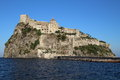 Aragonese castle, Italy Royalty Free Stock Photo