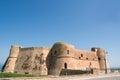 Aragonese castle of Ortona Royalty Free Stock Photo