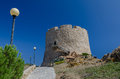 Aragonese watch tower sardinia picture of situated in santa teresa gallura town in italy Stock Photos