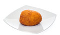 Arancino on the plate