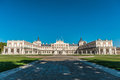 Aranjuez palace fa�ade in spain Royalty Free Stock Photography