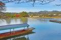 Arashiyama nature view at kyoto Royalty Free Stock Images
