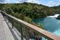 Aratiatia Rapids Dam near Taupo - New Zealand Royalty Free Stock Photo