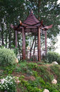 Arbour in the Chinese style Royalty Free Stock Photo