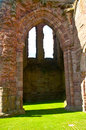 Arbroath Abbey the West Front Royalty Free Stock Image