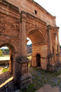 Arc of Constantine,Rome,Italy Royalty Free Stock Photo