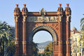 Arc de Triomf, Barcelona Royalty Free Stock Images