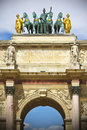 Arc de Triomphe du Carrousel Royalty Free Stock Photos