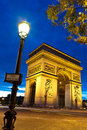 Arc de triomphe, Paris Royalty Free Stock Photos