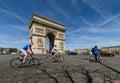 Arc de Triomphe Paris city
