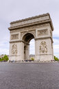 Arc de Triomphe, Paris, France Photographie stock