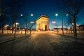 Arc de Triomphe Paris Royalty Free Stock Photo