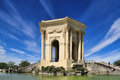 Arc de Triomphe, in Peyrou Garden in Montpellier, France Royalty Free Stock Photo