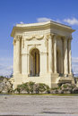 Arc de triomphe in peyrou garden montpellier france Stock Image