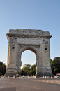 Arc de triumph bucharest romania Stock Images