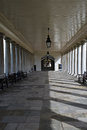 Arcade of the palace of the old royal navy college in greenwich Royalty Free Stock Photography