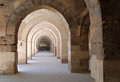 Arcades old caravansary sultanhani close to konya turkey Royalty Free Stock Photos