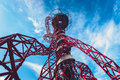 ArcelorMittal Orbit in London Royalty Free Stock Photo