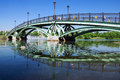 Arch bridge in tsaritsyno moscow russia Stock Image