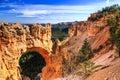 Natural Bridge at Bryce Canyon National Park Royalty Free Stock Photo