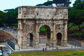 The arch of Constantine Stock Photography