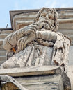 The arch of constantine detail rome italy Royalty Free Stock Photography