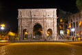 The Arch of Constantine in Rome Stock Photography